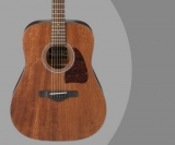 Ibanez AW54 Mahogany Review – OPN Artwood Acoustic Guitar With Solid Mahogany Top
