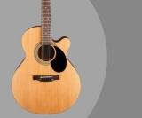 Jasmine S34C Review – Well Priced Acoustic Guitar With Satin Finish