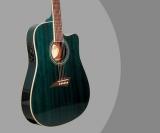 Kona Guitar Review – K2TBL Acoustic Electric Dreadnought Cutaway