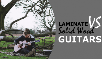 Laminate VS Solid Wood Acoustic Guitar: Which Will Be The Right Choice For You?