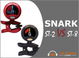Snark ST-2 VS ST-8: Super Tight Clip-On Chromatic Tuner Reviews