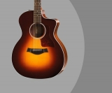 Taylor 214ce Deluxe Review – Grand Auditorium Guitar with Electronics (Sunburst)
